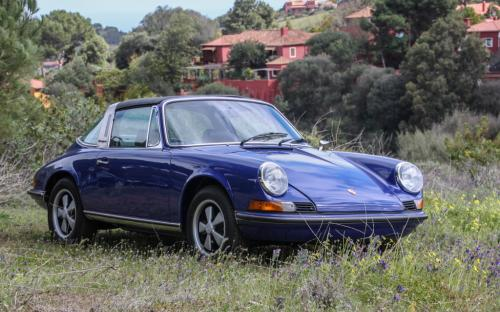 1973 Porsche 911 Targa for sale Oxford Blue